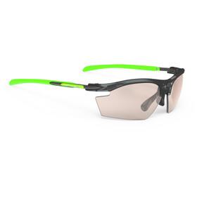 Rudy Project Rydon Okulary rowerowe zielony/czarny